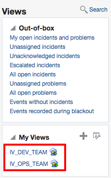 Incident Views