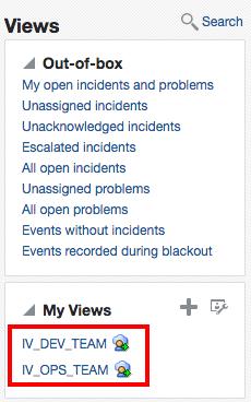 Incident Views